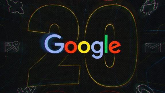 تولد ۲۰ سالگی گوگل