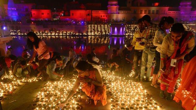 جشن دیوالی - هند