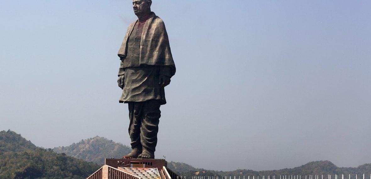 بلندترین مجسمه جهان - هند