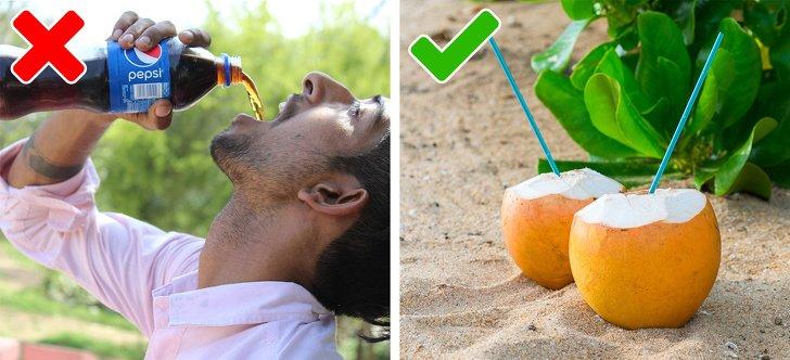 اجتناب از نوشیدنیهای قندی