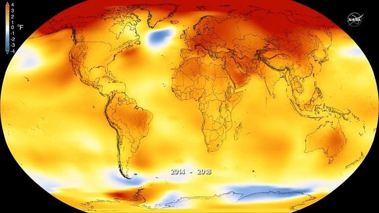 گرمترین سالهای تاریخ