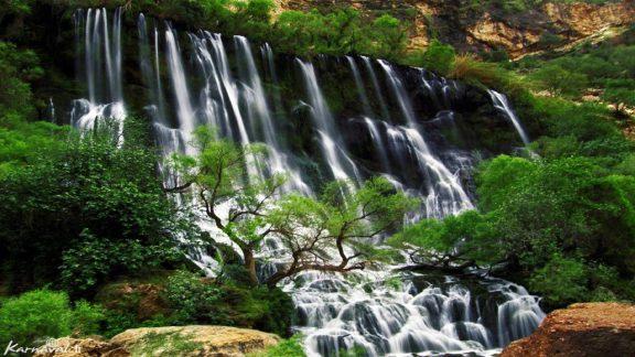 آبشار شوی بزرگترین آبشار طبیعی ایران و خاورمیانه