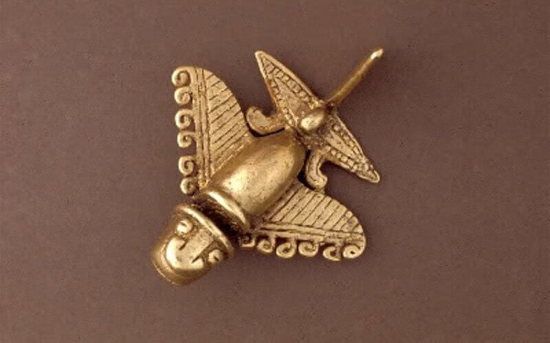 ردپای موجودات فرازمینی در هواپیمای مدل باستانی