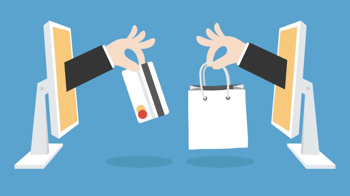 تاریخچه خرید اینترنتی به اواخر قرن بیستم بر میگردد، آنجا که برای اولین بار در سال ۱۹۹۱ بحث خرید از طریق اینترنت و دورا دور در خانه مطرح شد.