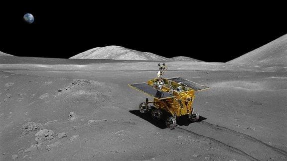 کشفیات جدید در نیمه پنهان ماه توسط کاوشگر چینی Chang'e-4