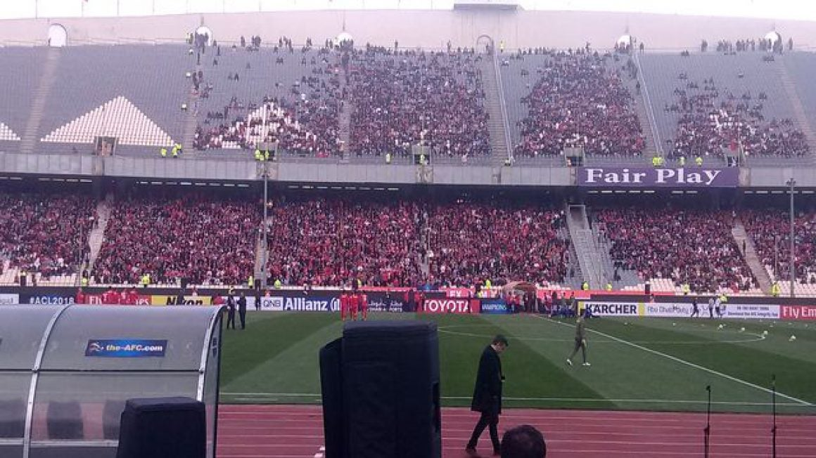 ورزشگاه آرادی در لیگ برتر