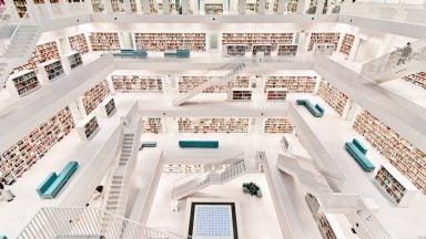 مدرنترین کتابخانه