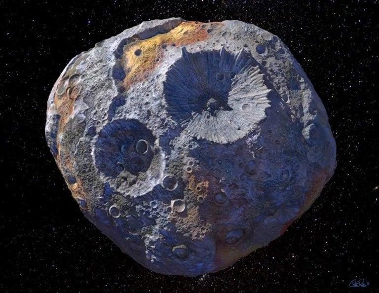 سیارک غولپیکر طلایی