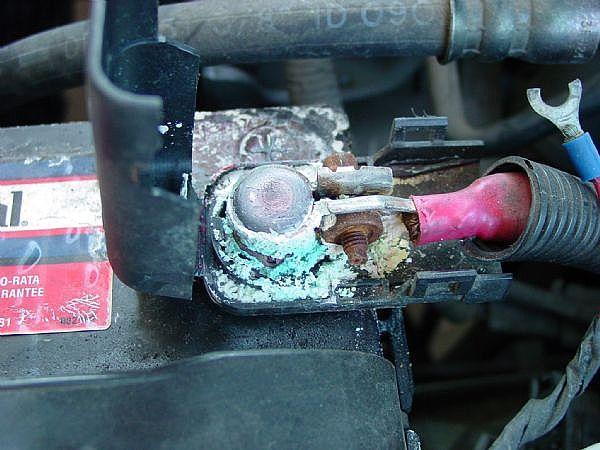 باتری سولفاته شده