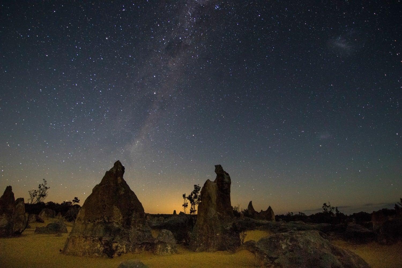 آسمانگردی غرب استرالیا-ایمو در آسمان