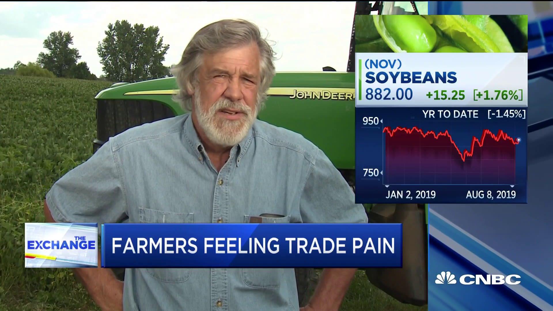 طرفدار ترامپ-کشاورز اهل اوهایو