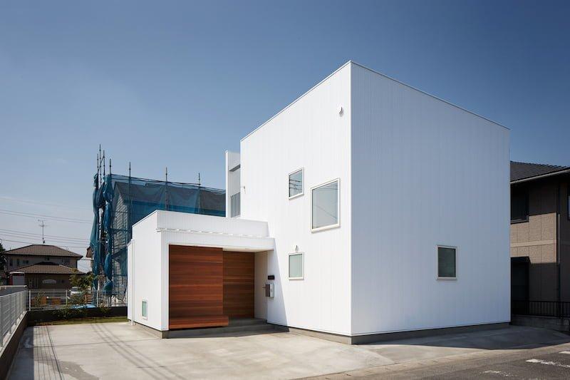 طراحی مدرن خانه-Box Family House