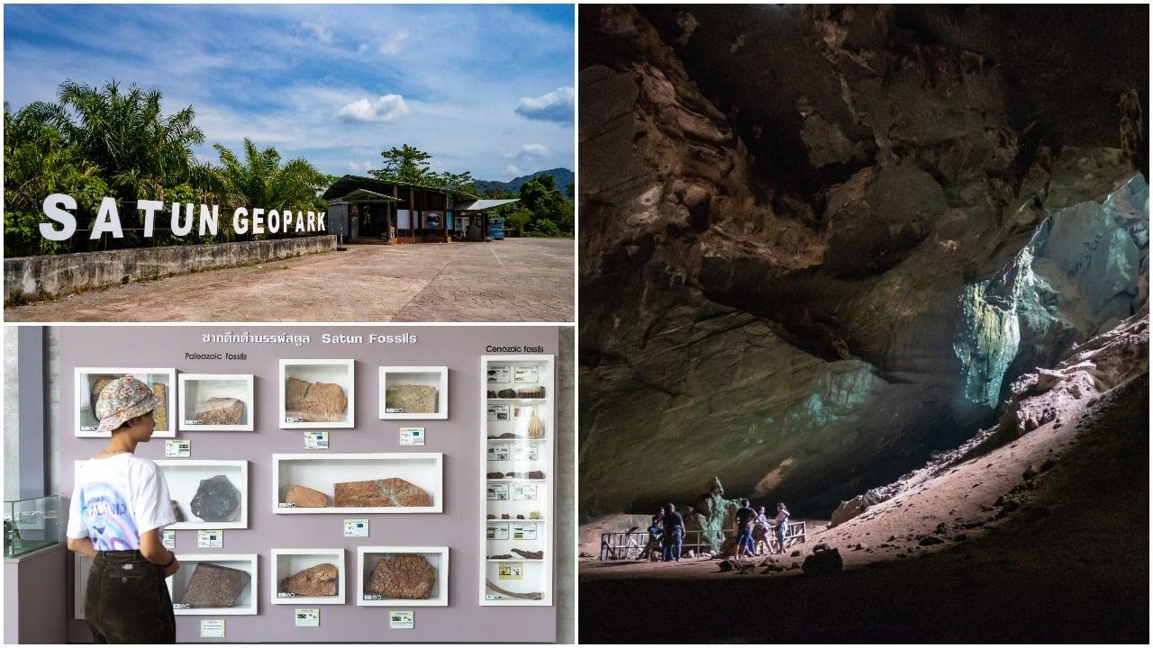 فرار از جمعیت تایلند-تجربه ماقبل تاریخی: Satun Geopark