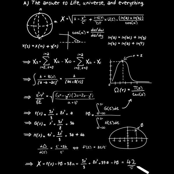 محاسبات ریاضی یافتن کد هستی