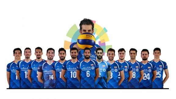 بروزرسانی: تیم ملی والیبال ایران پس از شکست استرالیا، قهرمان آسیا شد