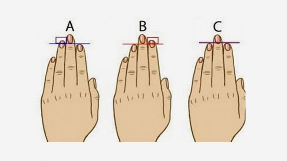 شخصیتشناسی : انگشتان دست میتوانند جزییات زیادی از شخصیت افراد را بگویند!