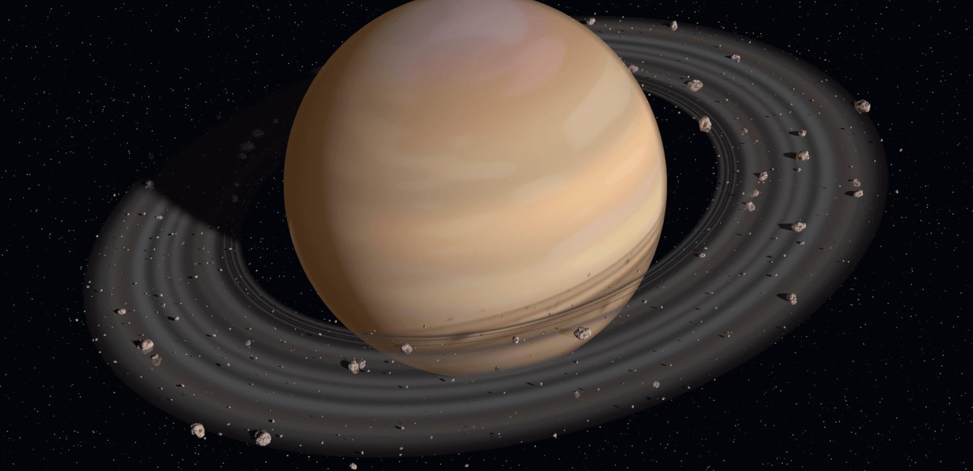 20 قمر جدید اطراف زحل