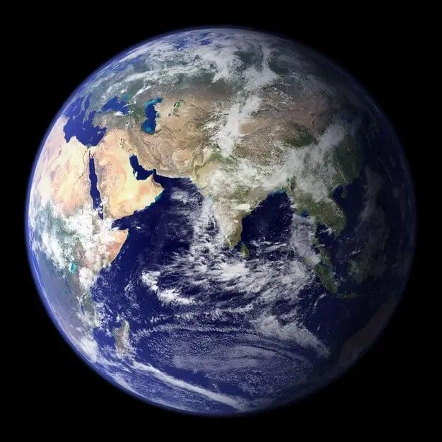 این زمین است! جایی که شما در آن زندگی میکنید