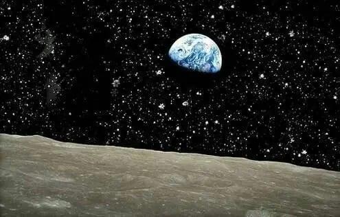 اگر شما روی ماه باشید زمینتان را از روی آن این گونه خواهید دید