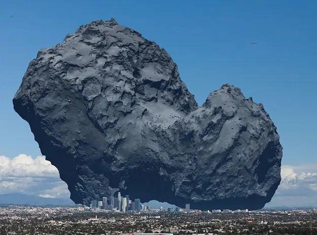 یک ستاره دنباله دار