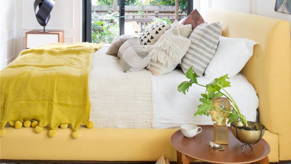 یک اتاق خواب مستر توسط طراحان Regan Baker