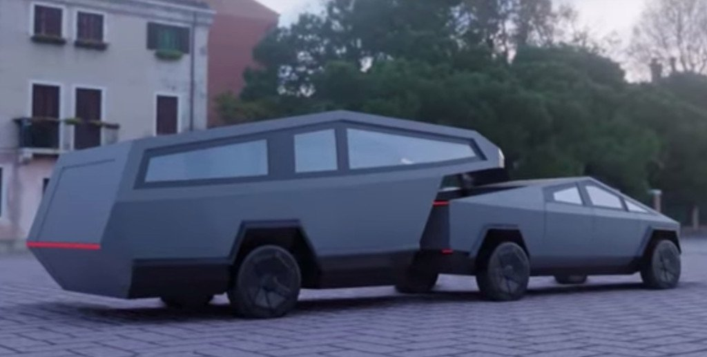 Cybertruck سایبرتراک تسلا - مدل 3