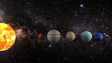 مجموعه دکوری رومیزی منظومه شمسی
