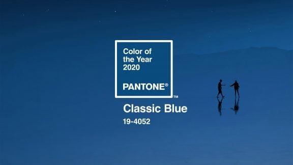 رنگ سال 2020 توسط کمپانی پنتون مشخص شد – Classic Blue