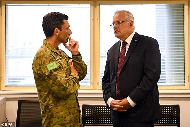 دیدار روسای سیاسی استرالیا