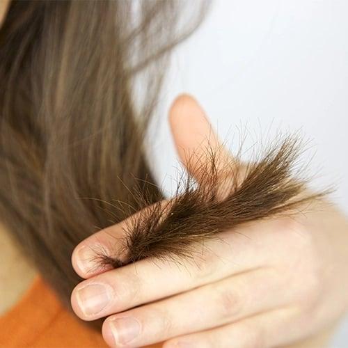 انتهای خشک مو