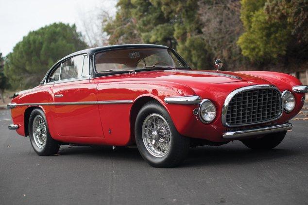 کندترین مدلهای فراری - 5. 1953 فراری 212 مدل Inter Vignale Coupe