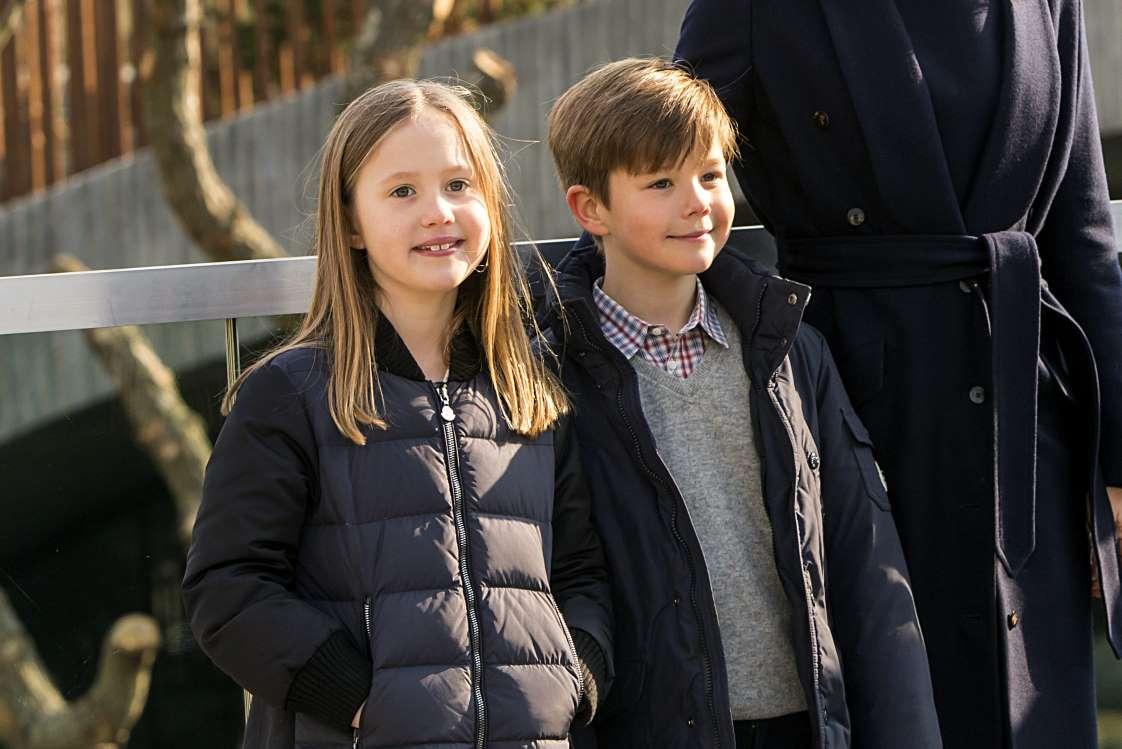 پرنس وینسنت و پرنسس جوزفین از دانمارک