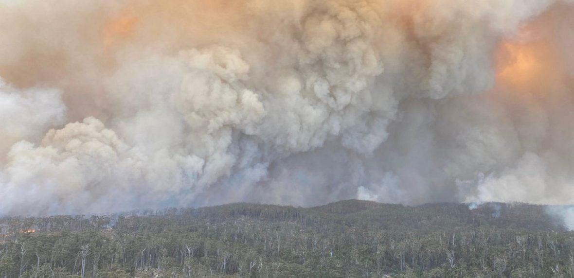 تهدید جدی آتشسوزی استرالیا