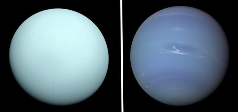 تفاوت سیارات اورانوس و نپتون