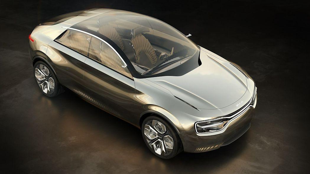 مدل مفهومی Kia Imagine - دید از بالا