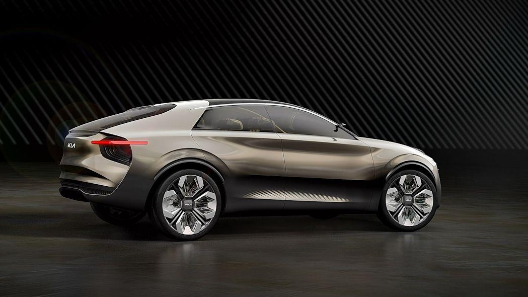 مدل مفهومی Kia Imagine - دید از کنار