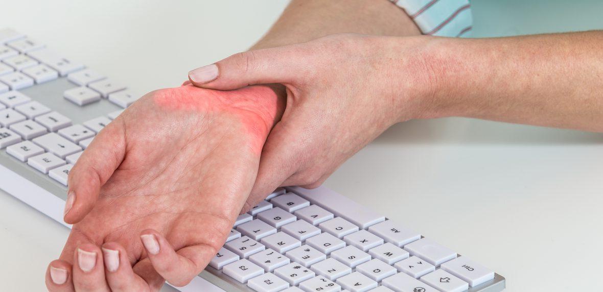 مقابله با درد مچ دست