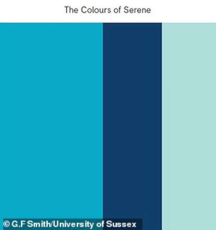آرامشبخشترین رنگ جهان - ترکیب رنگهای سکوت
